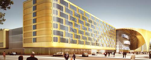 Новый конгрессно-выставочный центр «ЭкспоФорум»